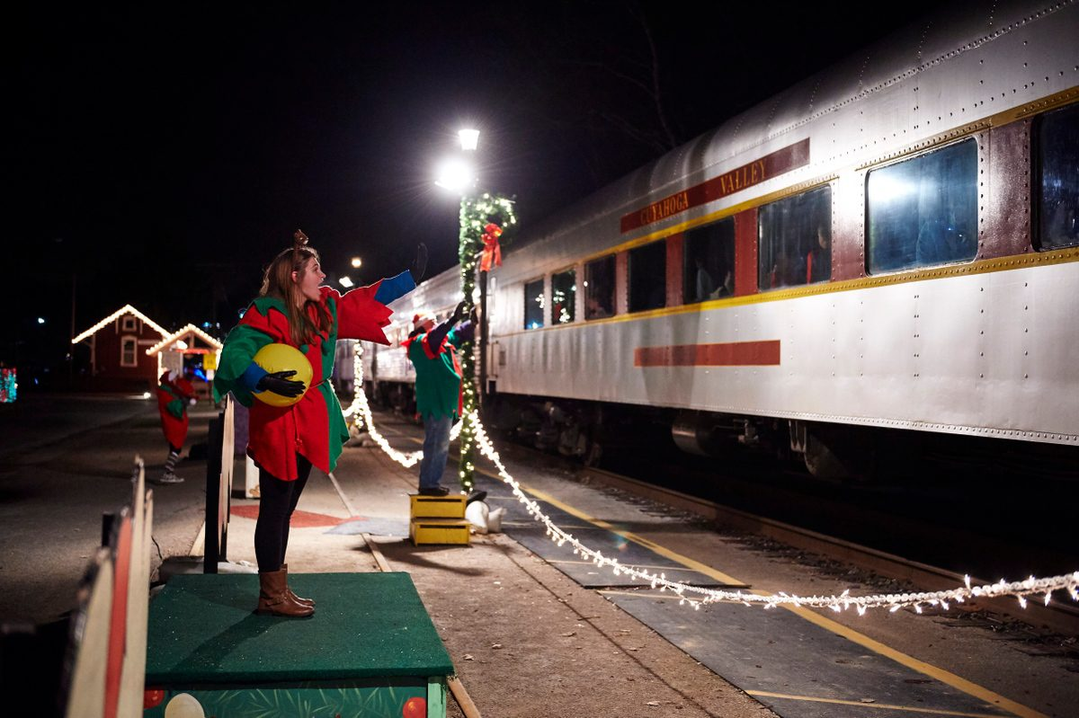 Holiday Train Rides in Ohio