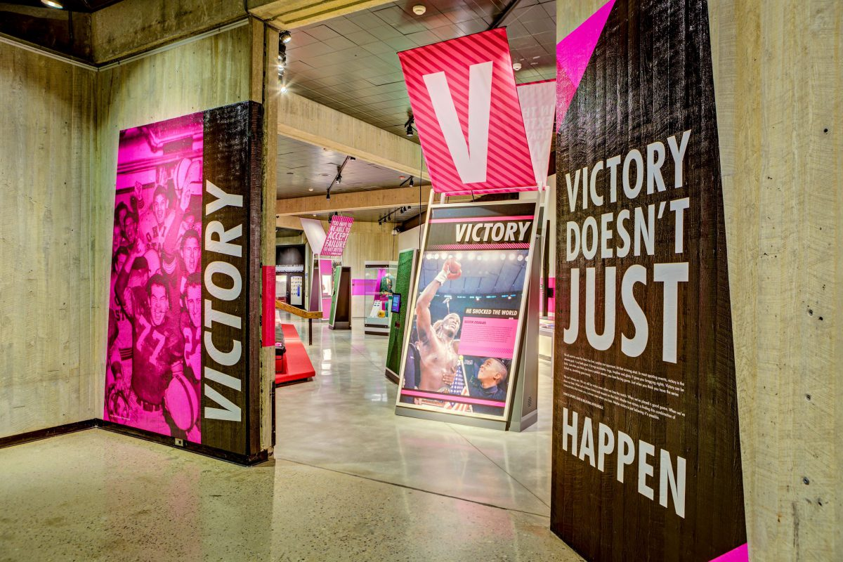 Ohio – Champion of Sports Exhibit at Ohio History Connection