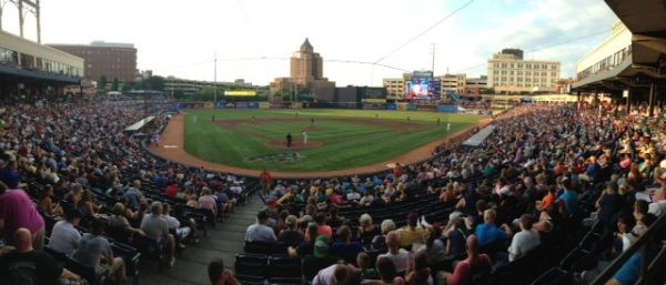 A New Experience at Akron's Canal Park