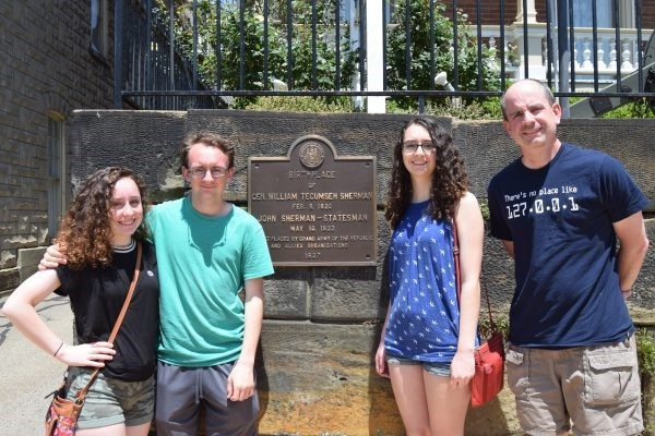 A visit to the birthplace of General William Tecumseh Sherman