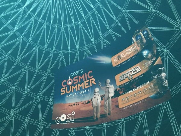 Launch Into Space at COSI's Cosmic Summer Exhibit!
