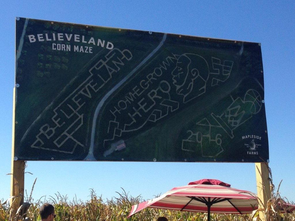 Believeland' maze not only reason to visit Brunswick's Mapleside Farms