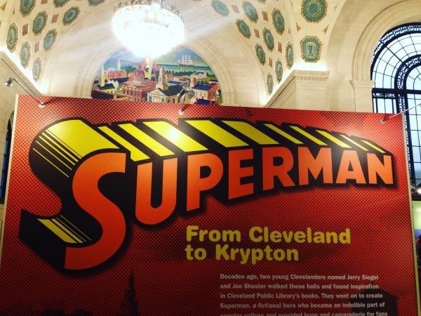 Up, Up and Away: Superman Exhibit Flies Into Cleveland Public Library