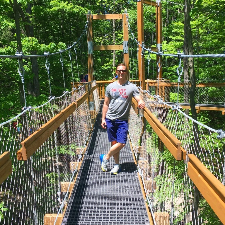 Walk Among The Treetops at Holden Arboretum