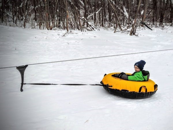 Take a Ride on Punderson Sledding Hill