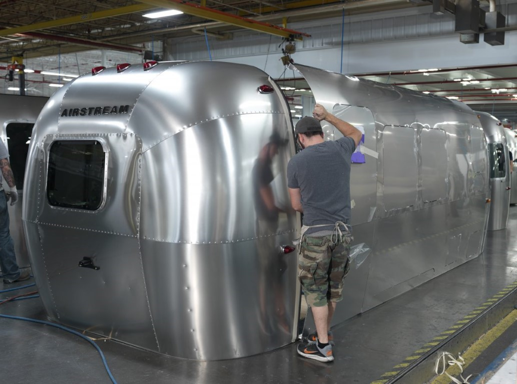 Touring Airstream's Ohio Factory!
