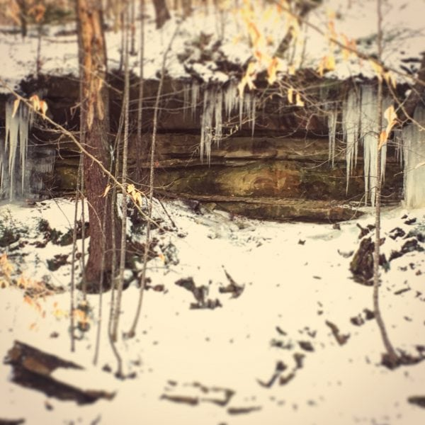 Winter Hiking in Southeast Ohio