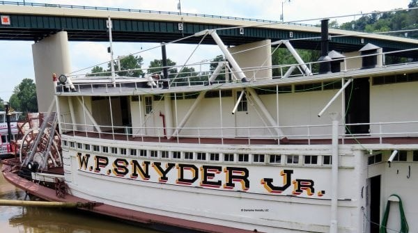 Celebrate the W.P. Snyder Jr. at the Ohio River Museum