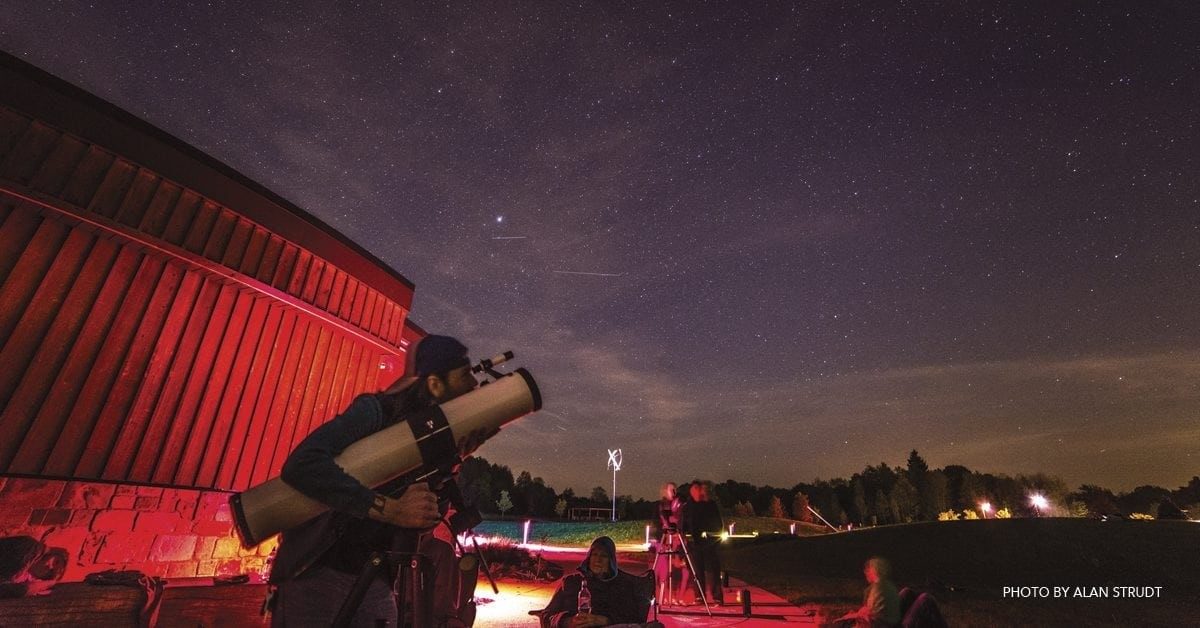 Starry Night: Great Spots for Astronomy & Stargazing in Ohio