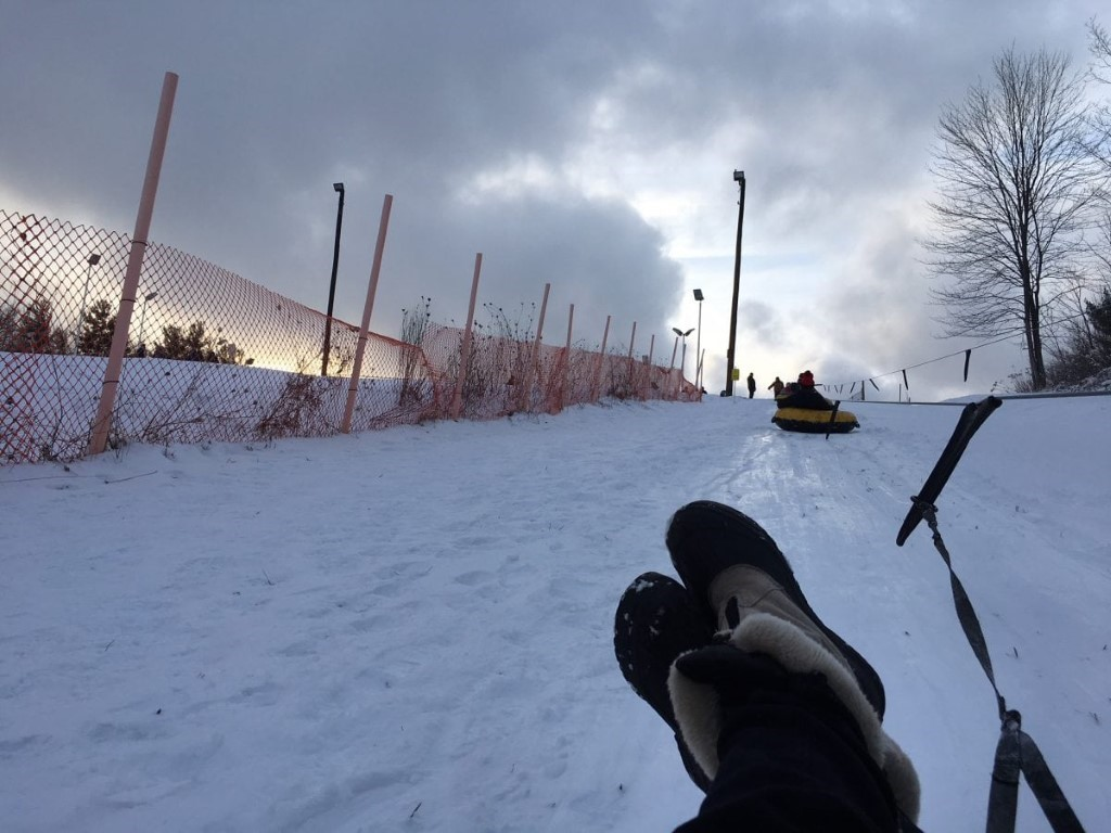 Adventures in Snow: The Sledding Hill, Tow Line and Snö Châlet at Punderson State Park
