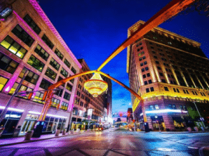 Playhouse Square in Cleveland