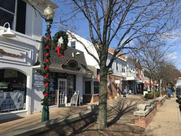 Holiday Shopping in Old Worthington