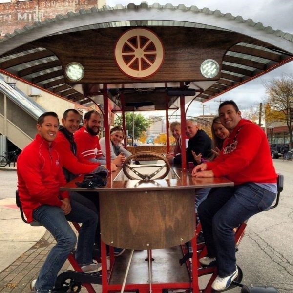 Columbus & Cincinnati Pedal Wagon – Polar Bear Express!