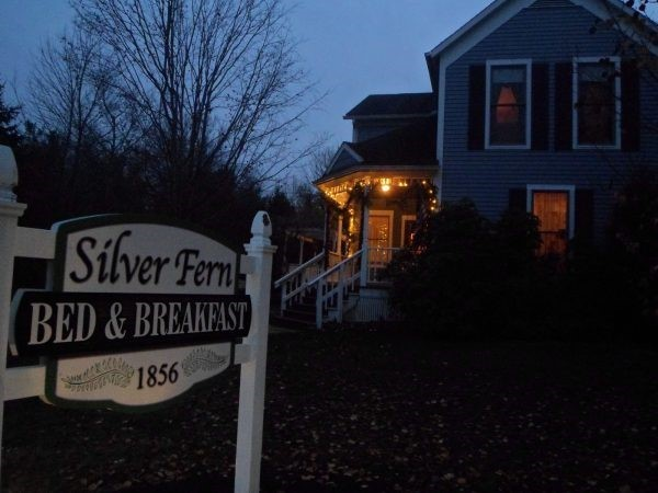 Ideal Ohio Winter B&B Getaway at the Silver Fern