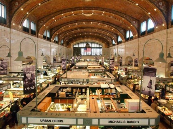 History and Eats at Cleveland's West Side Market