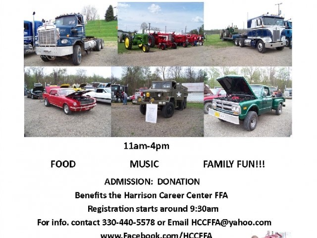Featured image for '4th Annual Harrison Career Center FFA Tractor, Truck, Engine, and Car Show'