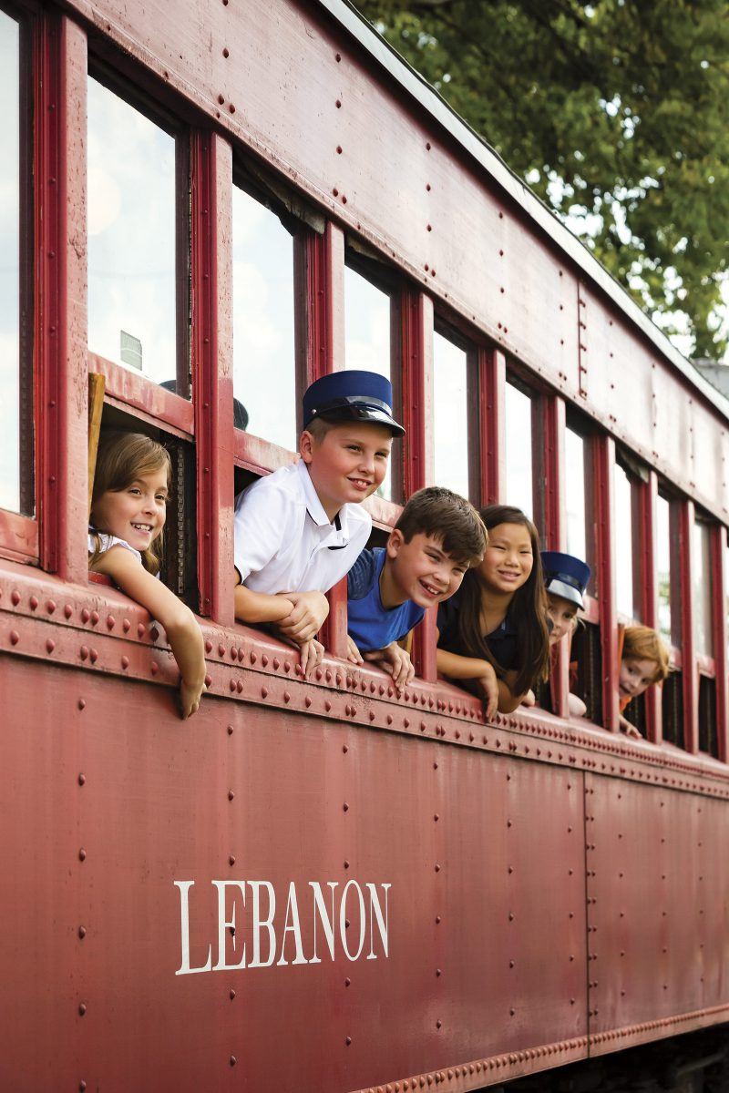 Ride the LM&M Railroad this Holiday