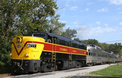 All Aboard the Cuyahoga Scenic Valley Railroad