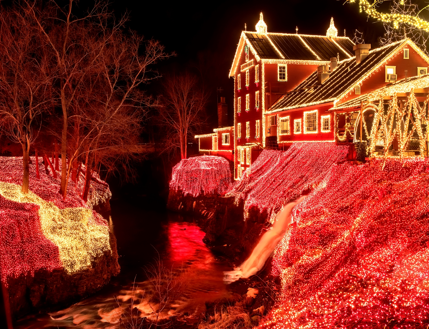 Legendary Lights of Historic Clifton Mill