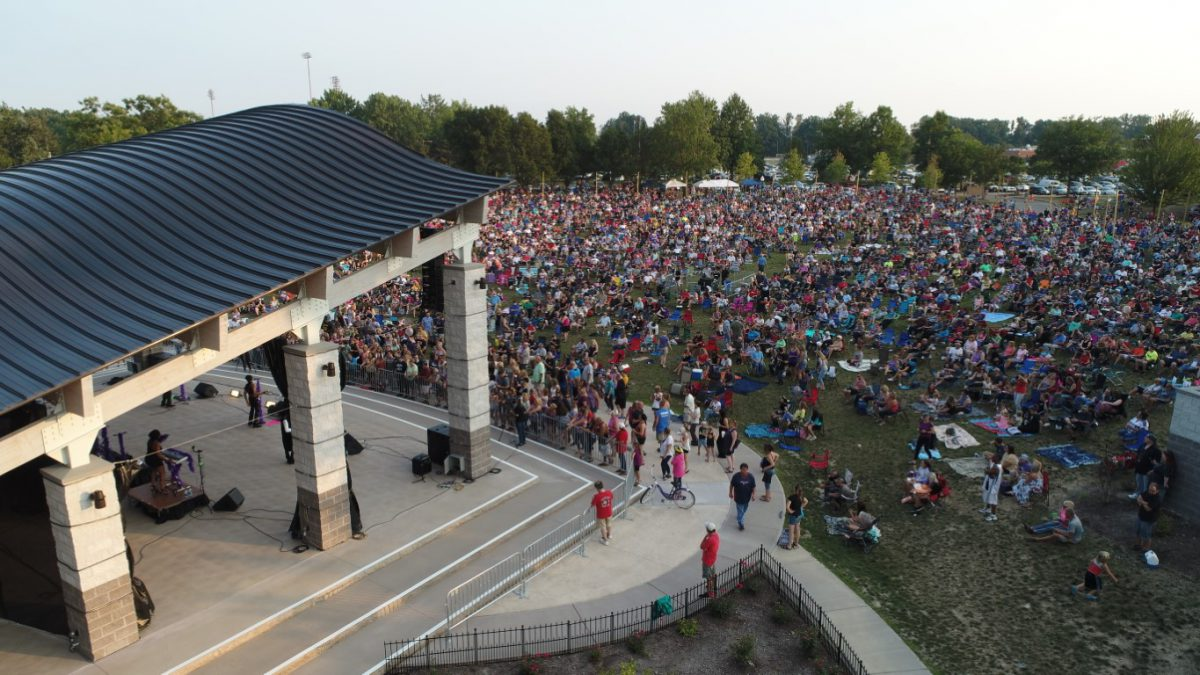 All Seasons Rv >> Mentor Civic Amphitheater - Ohio. Find It Here.