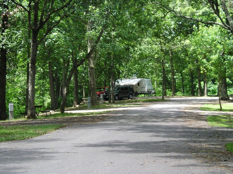 Forked Run State Park Campground