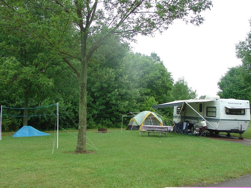 Caesar Creek State Park Campground