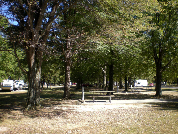 East Fork State Park Campground