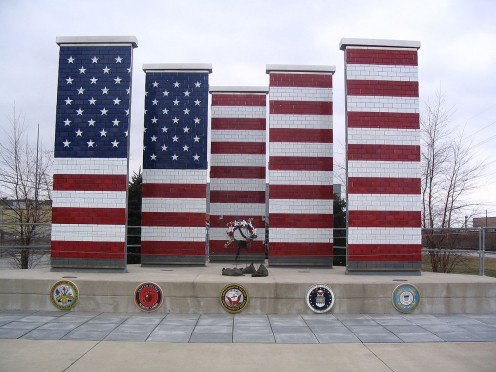 Veterans Freedom Flag Monument