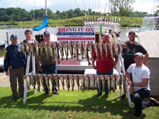 Bring It On – Lake Erie Fishing Charters
