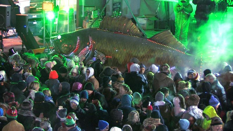 Walleye Drop New Year's Eve in Port Clinton