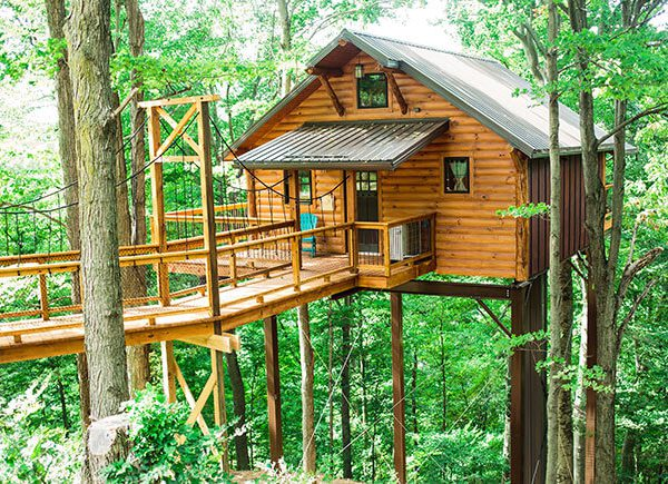 Ohio S Treehouse Stays And Where To Find Them Ohio Find It Here
