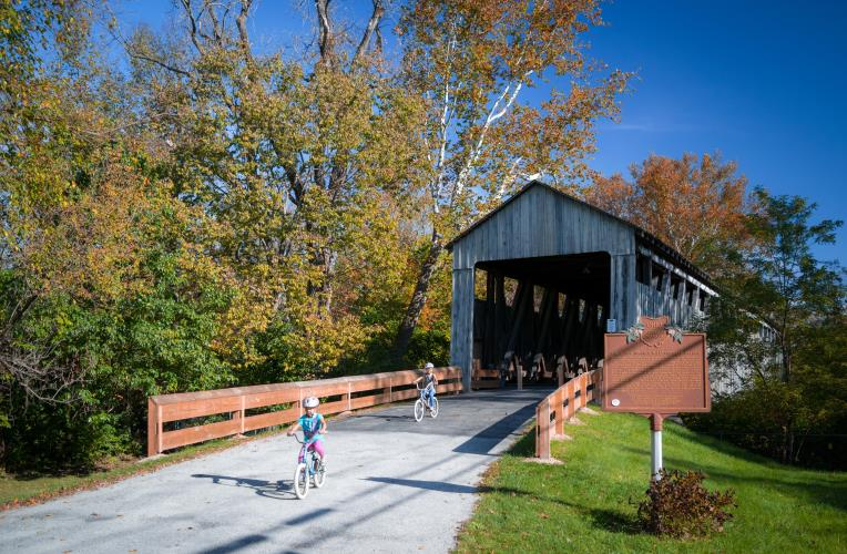 Black Covered Bridge