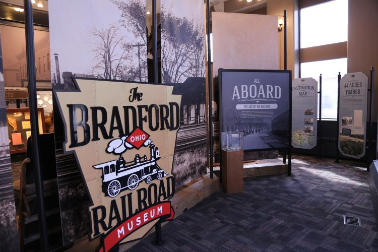 Bradford Ohio Railroad Museum
