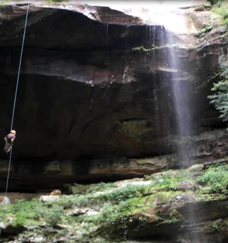 Hocking State Forest Rock Climbing & Rappelling