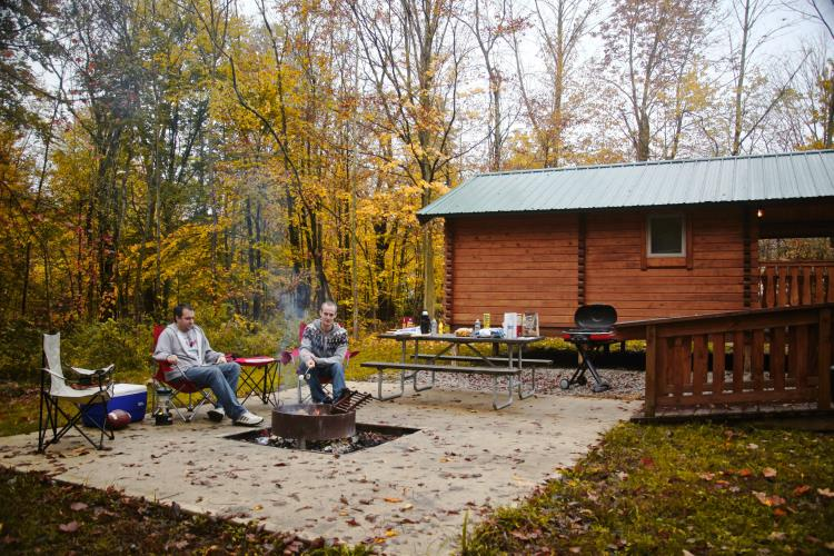 Alum Creek State Park Campground