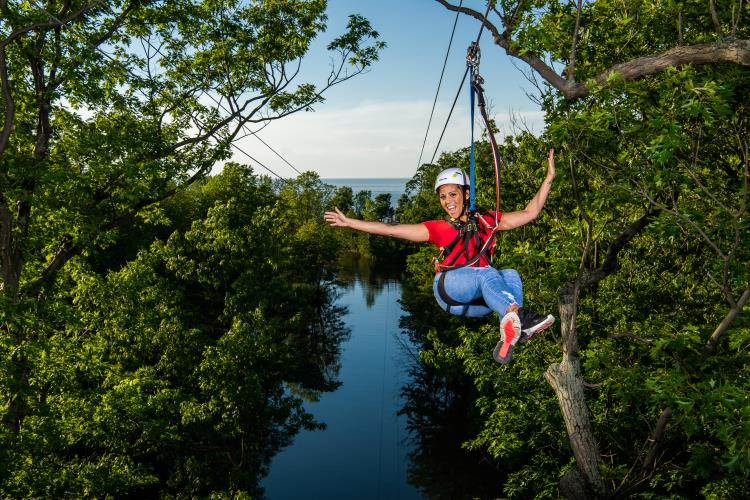 Lake Erie Canopy Tours