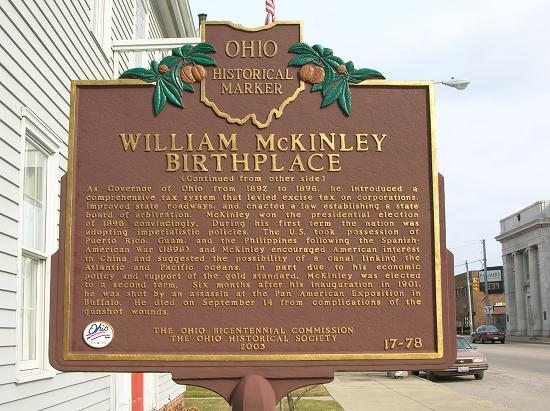 McKinley Birthplace Home & Research Center
