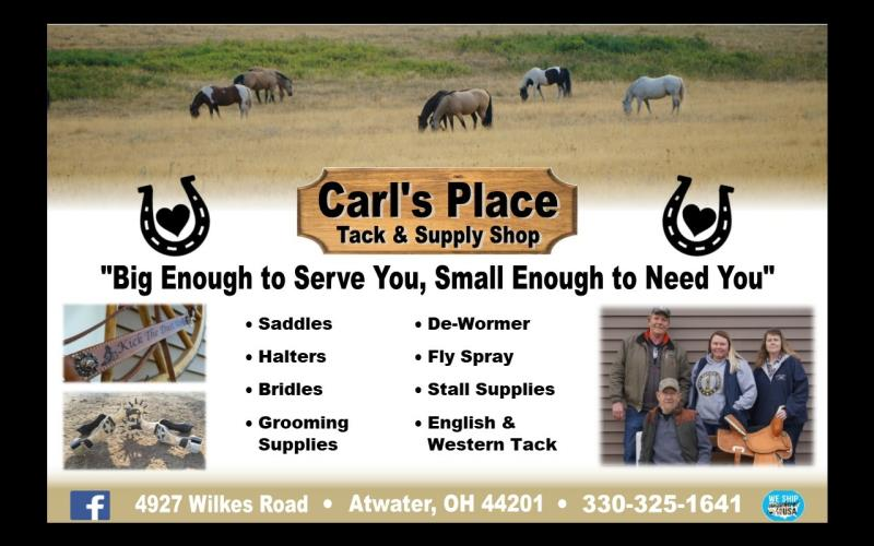 Carl's Place Tack and Supply Shop
