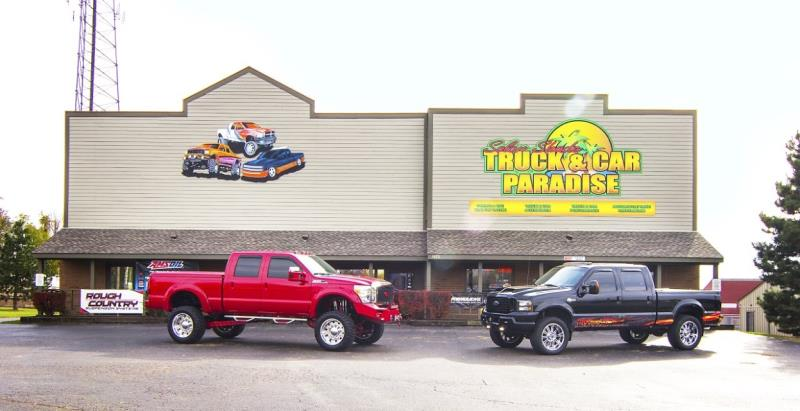 Solar Shade Truck and Car Paradise