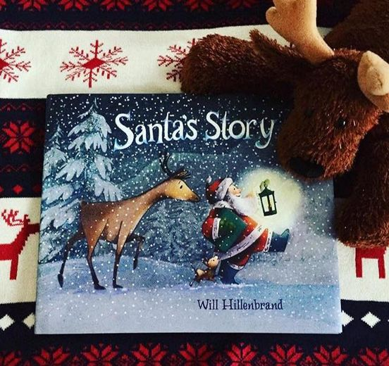 santa's helper book by will hillenbrand
