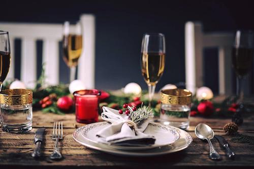 Celebrate Christmas with Dinner at Home